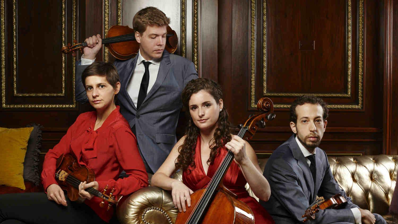 Ariel String Quartet Slider EKSM Classical Chamber Music Festival