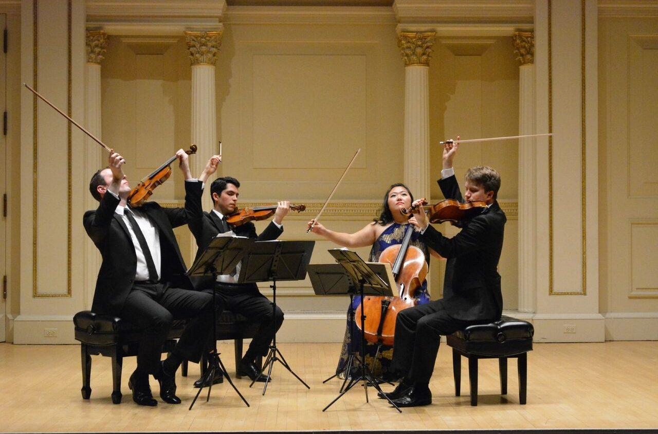 Calidore String Quartet at EKSM Classical Summer Chamber Music Festival