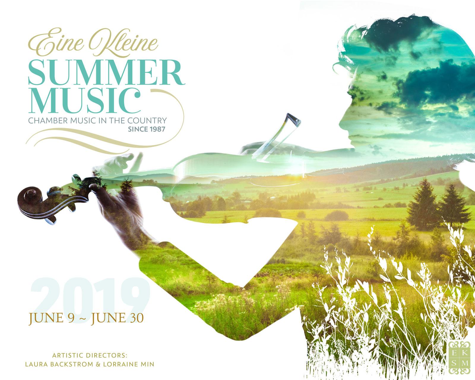 2019 poster EKSM Classical Summer Chamber Music Festival